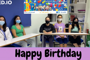 European Day of Languages 2021 Happy Birthday Challenge